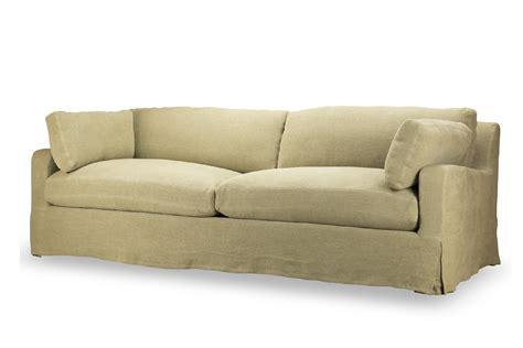 what is a slipcover sofa hampton slipcover sofa natural