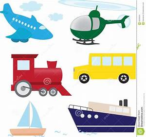 Vector Set Of Cartoon Transport Stock Images - Image: 29239254