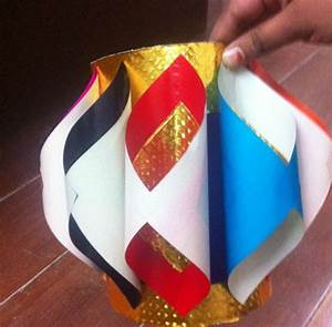 Make Diwali Paper Lanterns or Aaakash Kandil At Home - DIY