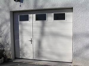 serrure porte de garage basculante castorama With porte de garage basculante avec portillon pas cher