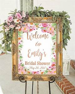 bridal shower sign bridal shower decorations wedding sign With decorating for a wedding shower