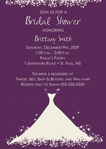 Bridal shower party invitations party ideas for Wedding shower invitations ideas