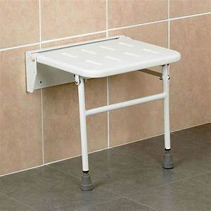 Collapsible Bench Seat Stainless Steel Folding Shower