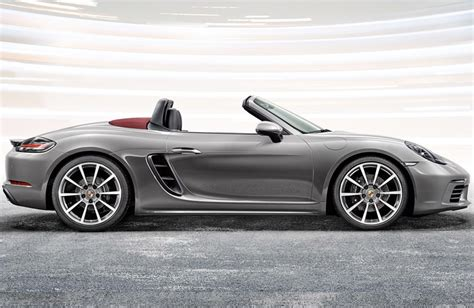red porsche boxster 2017 new 2017 porsche 718 boxster convertible features