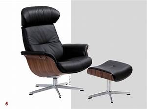 mobilier les fauteuils contemporains les plus tendance With fauteuil cuir bois design