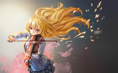 Anime Your Lie In April Wallpaper - your lie in april hd wallpaper background image