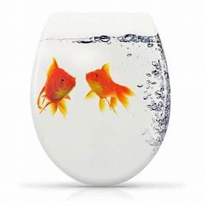 Toilettendeckel Mit Absenkautomatik : wc sitz toilettendeckel mit absenkautomatik klobrille goldfisch fisch aquarium ebay ~ Indierocktalk.com Haus und Dekorationen