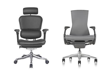 ergohuman vs herman miller embody what are the differences
