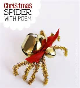 the christmas spider diy free poem printable christmas art le veon bell and little gifts