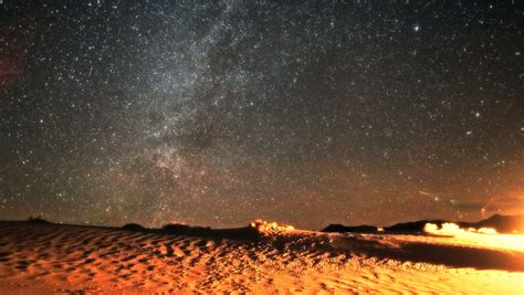 Landscape Night The Milky Way Image Free Stock