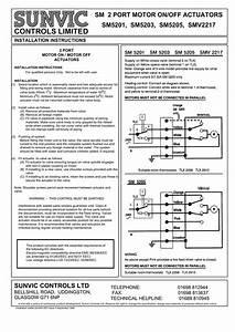 Sunvic Two Port Valve Wiring Diagram