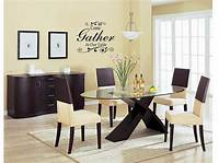 dining room wall art COME GATHER AT OUR TABLE Wall Art Decal Decor Kitchen ...