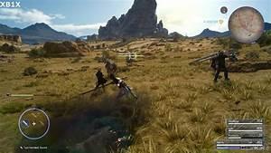 Final Fantasy XV Xbox One X Vs PS4 Pro Image Comparison