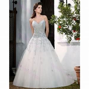 robe mariee grise et blanche photos de robes With robe de mariée grise