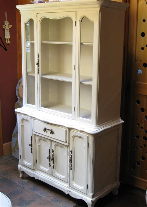 white china cabinet cotton picker white china cabinet in chalk paint