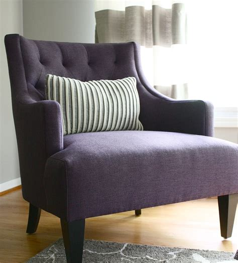 Purple Chairs For Bedroom by 25 Best Ideas About Purple Chair On Big Chair