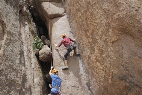 beginner guide rock climbing outward bound