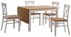Esstisch Stühle Weiß : esstisch 5 teilig bestseller shop f r m bel und ~ Michelbontemps.com Haus und Dekorationen