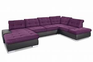Sofa Xxl Mit Schlaffunktion : wohnlandschaft palomino xxl mit schlaffunktion violette sofa couch ecksof ebay ~ Indierocktalk.com Haus und Dekorationen