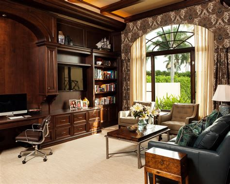 spectacular tropical home office designs