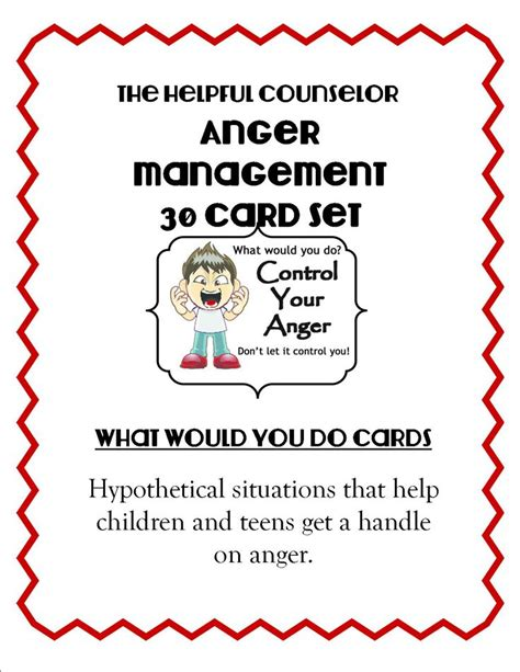 70 best images about anger management activities for 382 | 32a8eb15f0c50c7916d988503359cab3