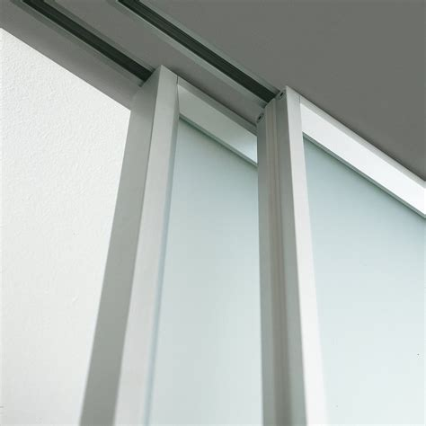 sliding closet door track installation decor exterior