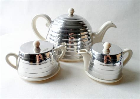 Vintage Kitchen Home 3 Piece Beehive Everhot Ever Hot Tea