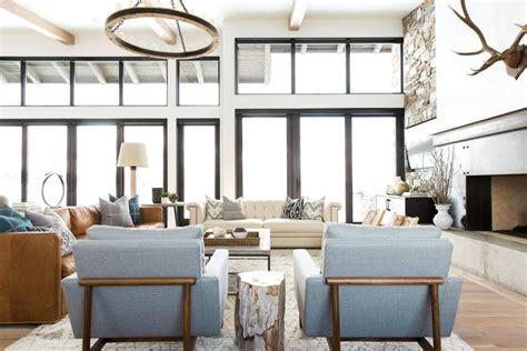home interior decor modern day mountain residence by studio mcgee decor advisor