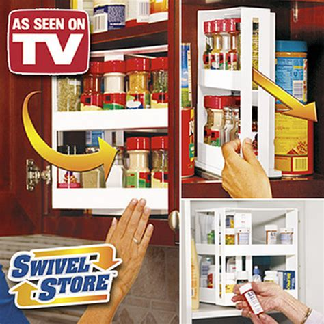 Swivel Store Spice Rack by Free Shipping 24pcs Lot Swivel Store Spice Rack As Seen On