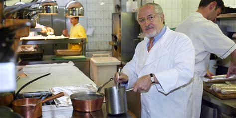 le chef cuisine gastronomie le chef alain senderens est mort