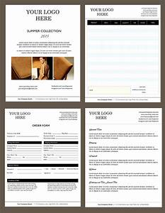 microsoft word catalog template - price sheet order form template cover order form