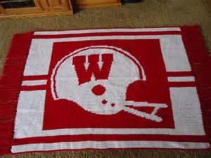 Wisconsin Badger Crochet Pattern