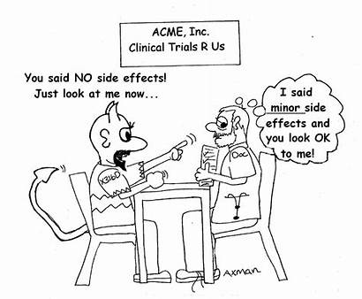 Clinical Trials Cancer Effects Side Cartoons Effect