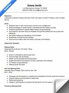 makeup artist resume sample resume examples pinterest With artsy resume templates