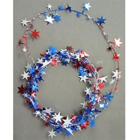 star wire garland wire garland white blue 12 ziggos