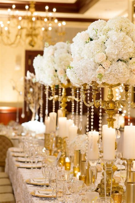 Tall Flower Stands For Centerpieces by Wedding Wednesday Shimmering Winter White Beautiful Blooms