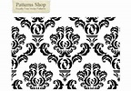 Free damask vector pattern 2 - Download Free Vector Art ...