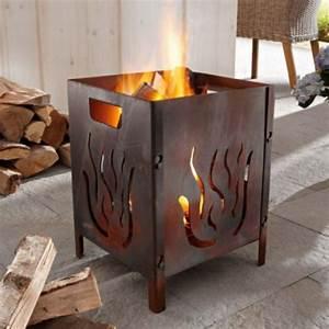 Feuerstelle Für Terrasse : winterdekoration f r den garten und die terrasse ~ Markanthonyermac.com Haus und Dekorationen