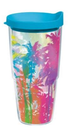 tervis palm tree  oz insulated cup
