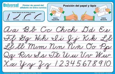 cursive letters alphabet chart cursive writing cursive