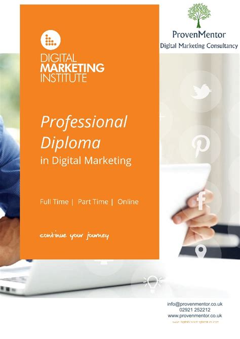 professional diploma in digital marketing provenmentor professional diploma in digital marketing