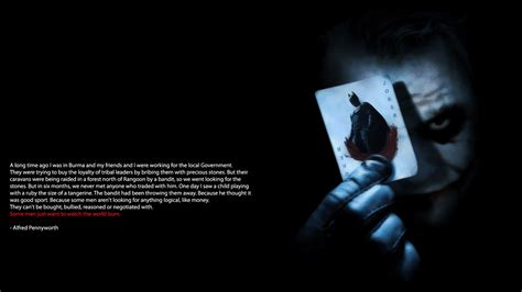 Joker Quotes Wallpapers Wallpapersafari