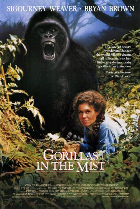 gorilas en la niebla la aventura de dian fossey 1988