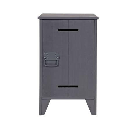 Locker Nightstand by Locker Nightstand Steel Grey For Children In S A