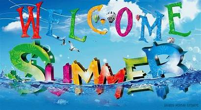 Summer Welcome Clipart Summertime Gifs Wonderful God