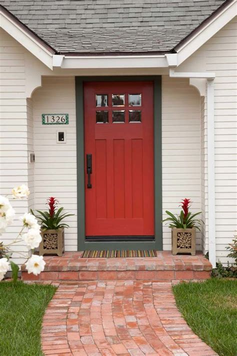 32 Bold and Beautiful Colored Front Doors - Amazing DIY ...