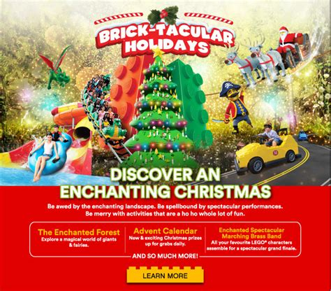 legoland forest enchanted quests magical malaysia holiday season go resort
