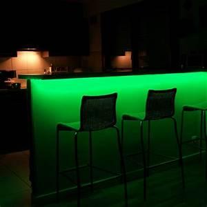 Bande Led Autocollante : kit ruban professionnel 5050 60 leds m 5 m tres vert ~ Edinachiropracticcenter.com Idées de Décoration