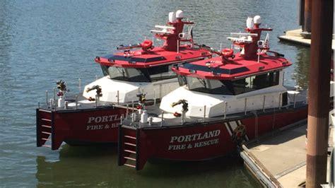 Boat Lettering Portland Oregon by Portland Ore Rescue Boats Given Unique Names