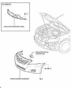 Remove The Front Bumper On Toyota Corolla 2013 Camry